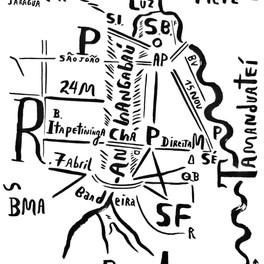 Mapa de São Paulo 17