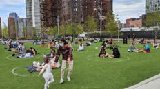 Fernando Canteli de Castro, Domino Park, Brooklyn NY