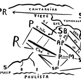 Mapa de São Paulo 26