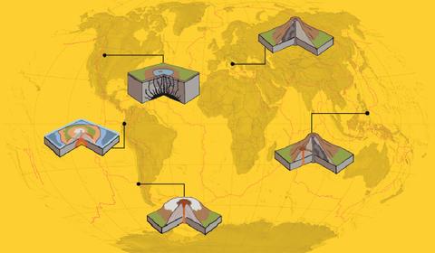 As erupções vulcânicas dos últimos 4.000 anos em um mapa animado