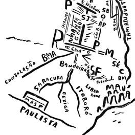 Mapa de São Paulo 22