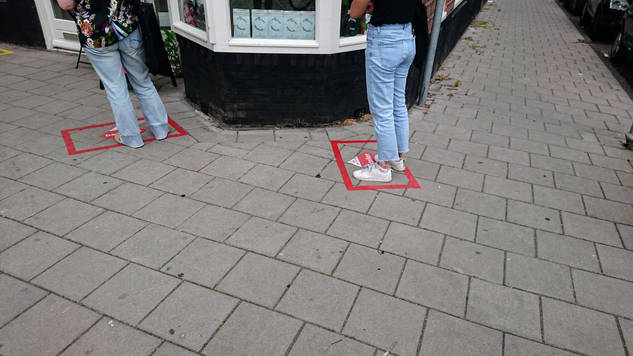 Adriana Matsufuji, Kinkerstraat, Amsterdam, Holanda