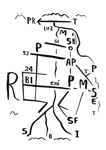 Mapa de São Paulo, 2020