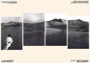 Paisagem ambulante ou mapeamento berbere, 2020
