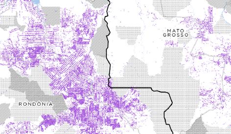 Onde vive e onde não vive ninguém no Brasil