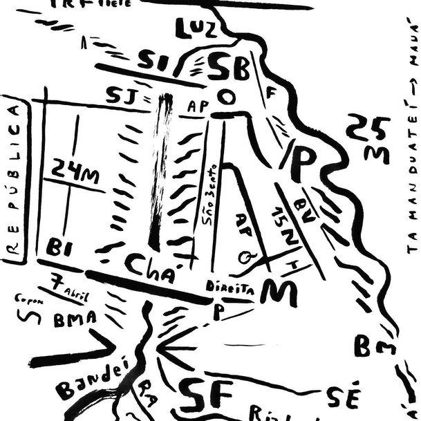 Mapa de São Paulo 21