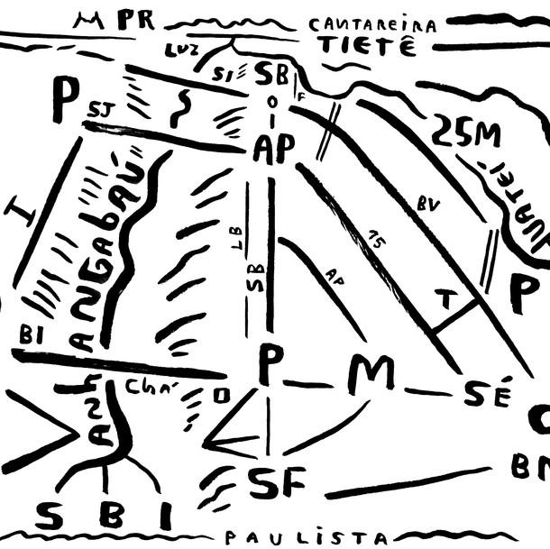 Mapa de São Paulo 25