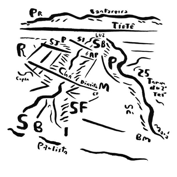 Mapa de São Paulo 14