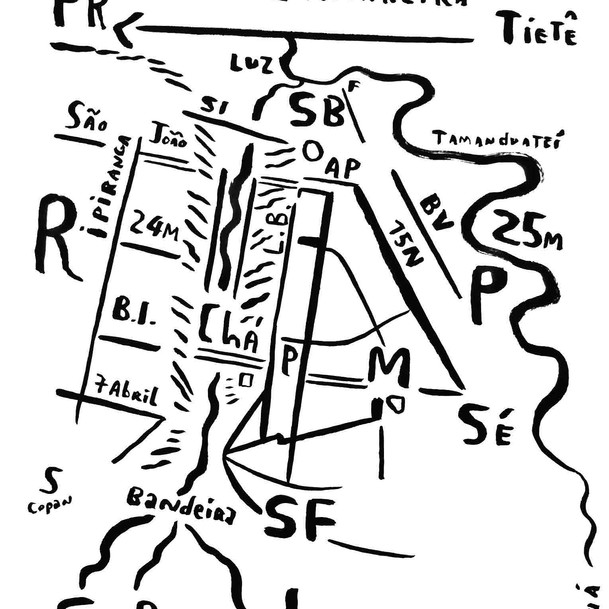 Mapa de São Paulo 18