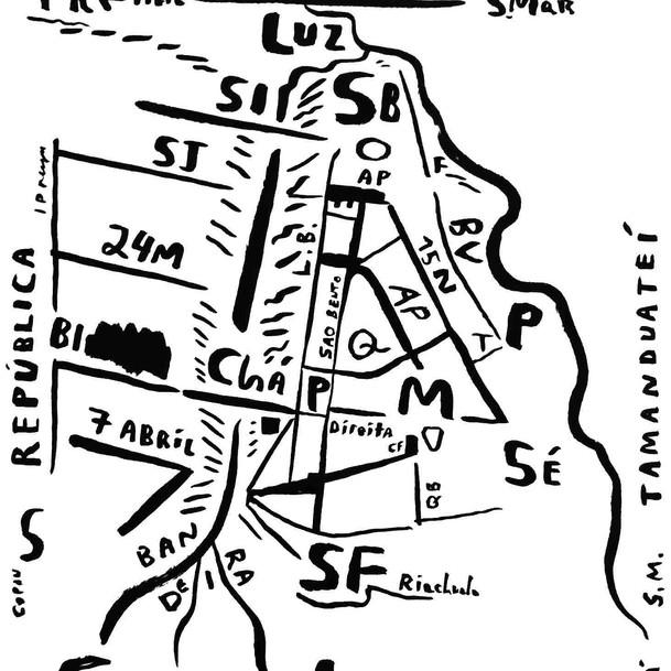Mapa de São Paulo 23