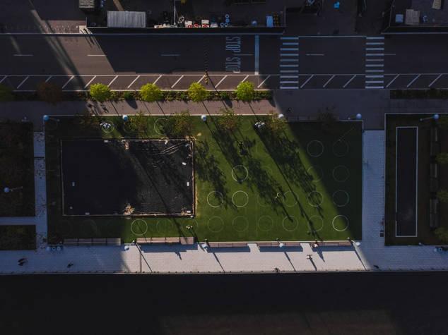 Henry Urrunaga, Domino Park, Brooklyn, NY