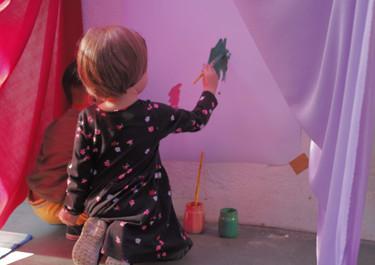 Espaço de pintura