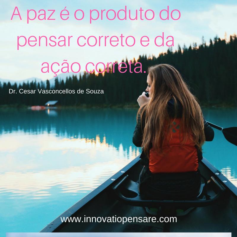 Frase de Dr. Cesar Vasconcellos de Souza-Criação Innovatio Pensare