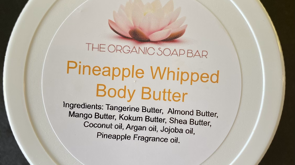 Pineapple Whipped Body Butter