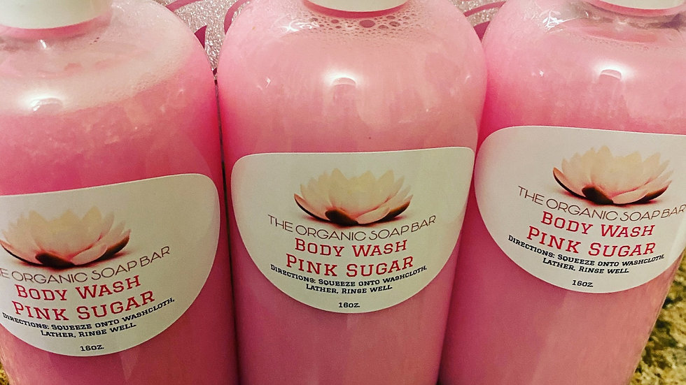 Organic Pink Sugar Body Wash