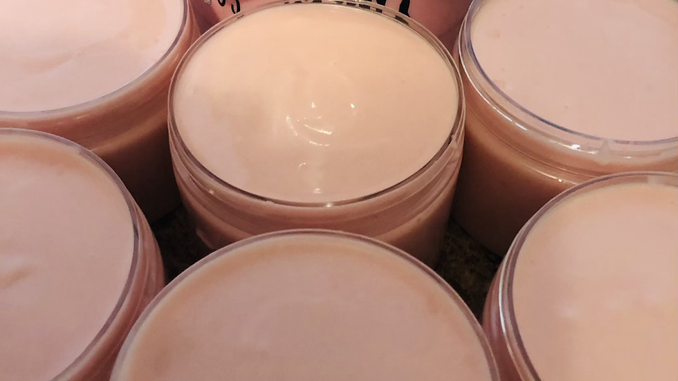 10oz. Pink Sugar Whipped Body Butter