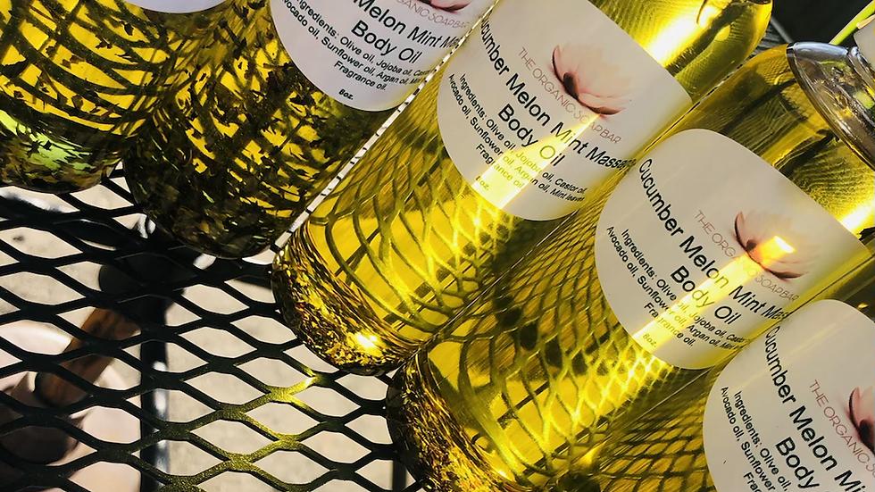 Cucumber Melon Mint Massage & Body oil