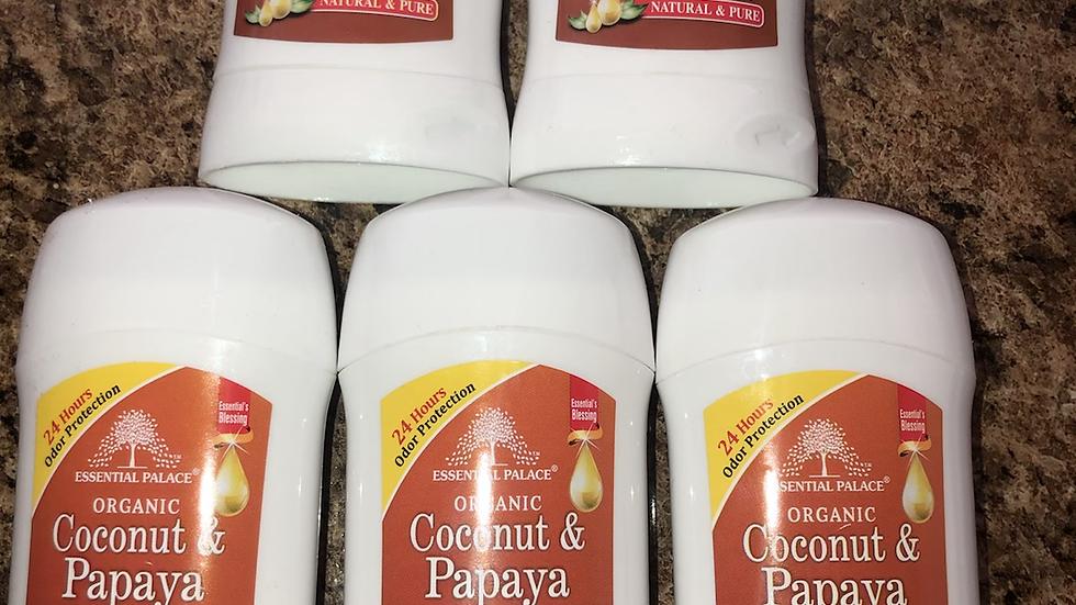 Organic Vegan Coconut & Papaya Deodorant