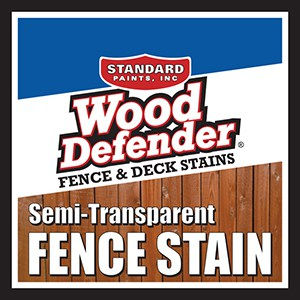 Wood Defender Semi-Transparent Fence Stain