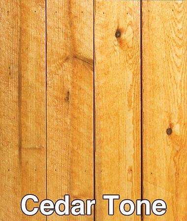 Cedar Tone Stain