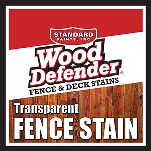 Wood Defender Transparent Fence Stain