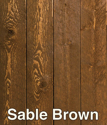 Sable Brown Stain