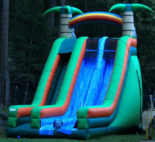 GIANT SLIDE 22' Tall w/Dual Lanes