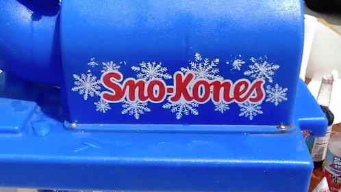 SNO-KONE'S VENDING STATION