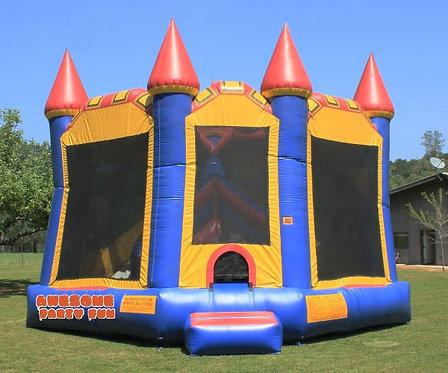 CASTLE COMBO 17' Bounce House w/5' Slide