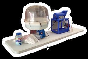 Concession Items Like Cotton Candy and Slushy Machines