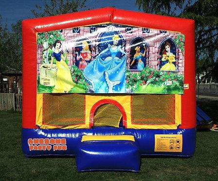 DISNEY PRINCESSES Themed 13' Bounce House