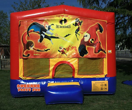 THE INCREDIBLES Superhero Themed 13' Bounce House