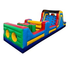 MEGA OBSTACLE COURSE INFLATABLE RACE 10' x 40'
