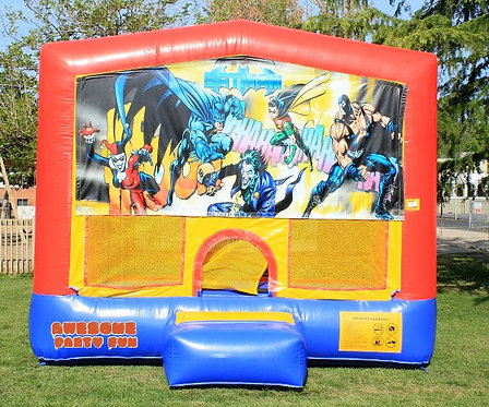 BATMAN Caped Crusader Themed 13' Bounce House