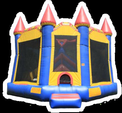 Large Combo Castle Bounce House