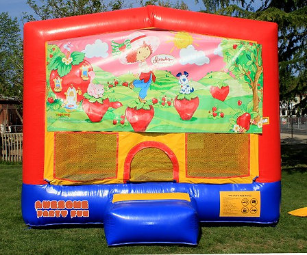 STRAWBERRY SHORTCAKE Themed 13' Bounce House