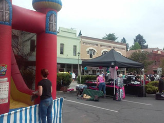 Come Bounce with us at the Downtown GV Car Show and Street Fair TODAY!