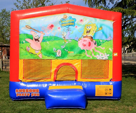 SPONGEBOB SQUAREPANTS Themed 13' Bounce House