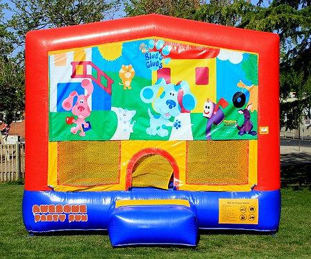 BLUE'S CLUES Themed 13' Bounce House