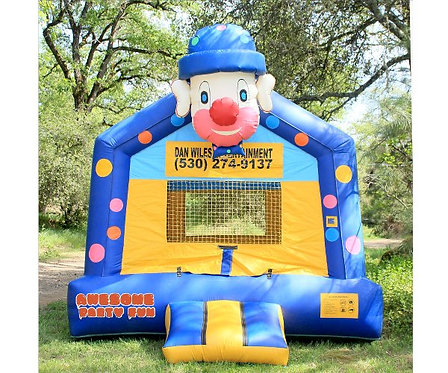 FUN CLOWN 13' Inflatable Figure Bounce House