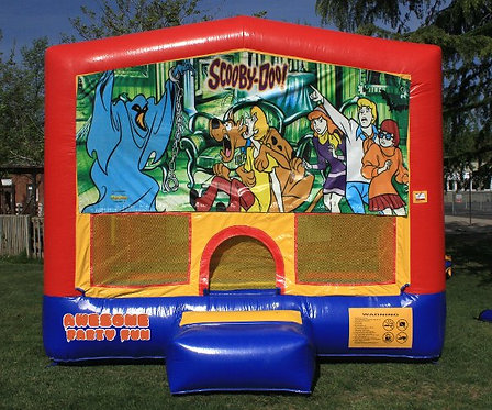 SCOOBY-DOO! Themed 13' Bounce House