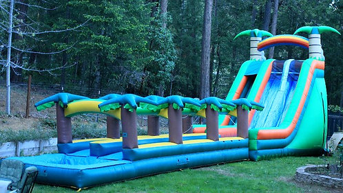 MEGA COMBO WATER SLIDE + EXT -- OVER 50' OF FUN