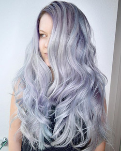 What Can We Say, Just In Love With Creating Dreamy Metallic Hair