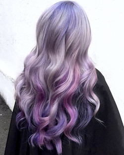 Parting Sea 🌊💜🌊 Using All _pulpriothair Did You Catch This Color In Our Instastories Today_ By Mi