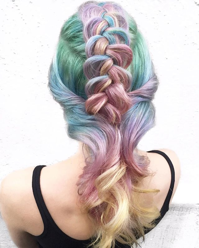 🍭Candy Hearts🍭 💛💗💜💙💚 I LUV U 💋 Our Valentines Inspired Hair