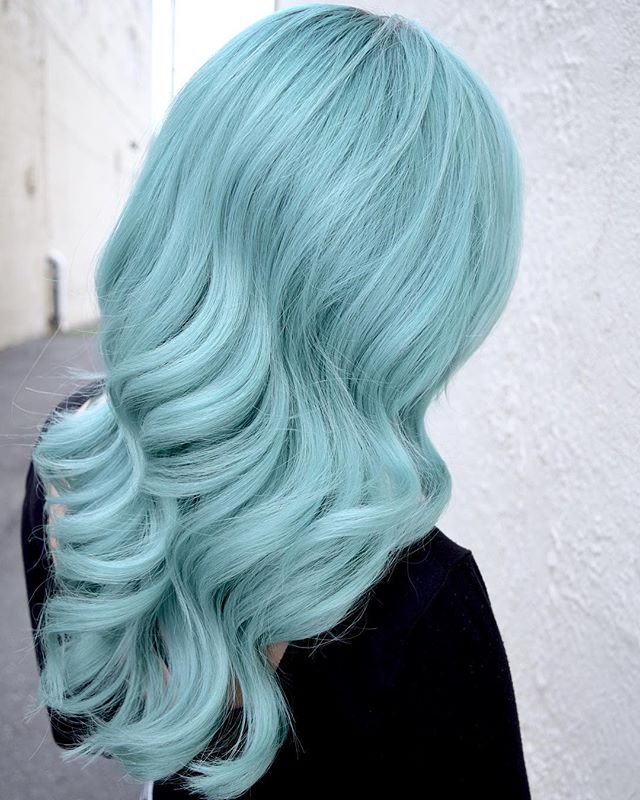 Minty Refresh ❄️🌿❄️ Who Else Is Digging On These Ultra Cool Tones For Winter!_! By Melody & Michael