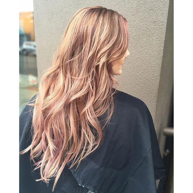 My Rose Gold Muse! 💝💝💝 Used 9-18, 9.5-89, 11-89  _schwarzkopfusa colors