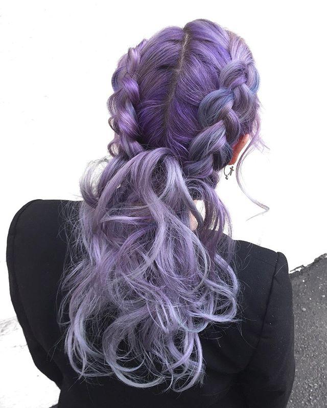 Violet Periwinkle Melt 🔮🎐 Double Dutch Style
