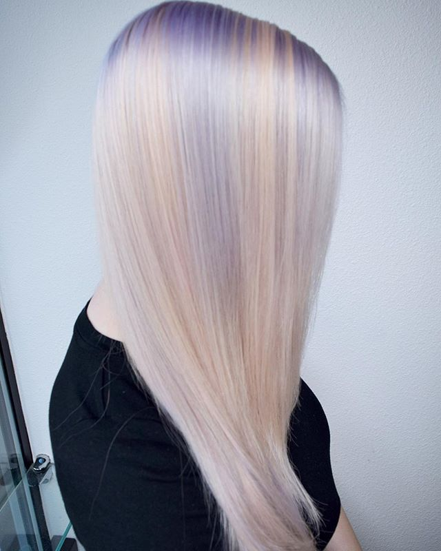 Flower Petal 🌷 Who Else Is Dreaming Of Spring_ By Melody & Michael Using _pravana & _olaplex ._._._