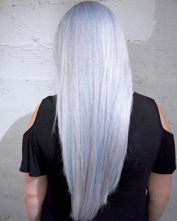 Opal Platinum ⚪️ By Michael & Melody Using All _pravana Express Tones Violet, Vivid Pastels Blissful